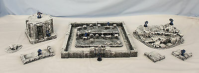 WARGAME Terrain Scenery HandCrafted  FROSTGRAVE COMPLETE SET #1 Free Shipping