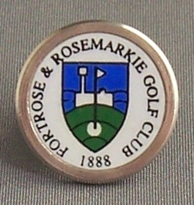 The Fortrose & Rosemarkie Golf Club Small Stem Type Golf Ball Marker