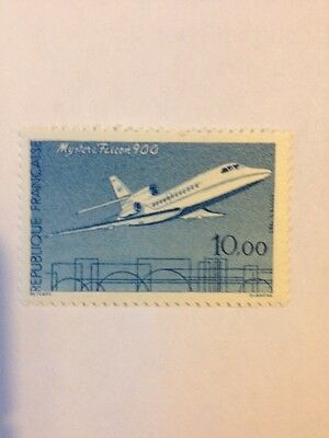 Aviation Stamps - France - Falcon 900