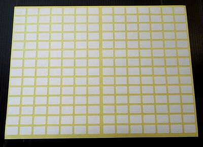 196 small white sticky stickers labels9X13 mm adhesive labels price stickerstags