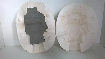 Ceramic Slip Casting Mold No Markings Angel Mouse