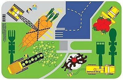 Constructive Eating - Children's Construction Worksite Placemat