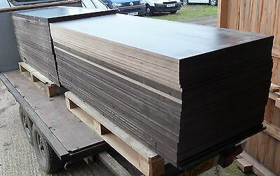 50 Pieces of NEW 18mm RIGGA Phenolic Coated Weatherproof Plywood 60in x 26in