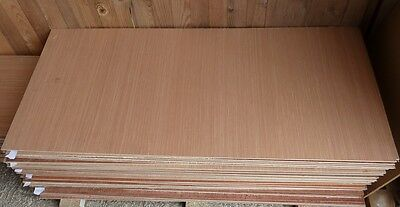 5 pieces of NEW 6mm Top quality B/BB Exterior Grade Hardwood Ply 1220mm x 540mm