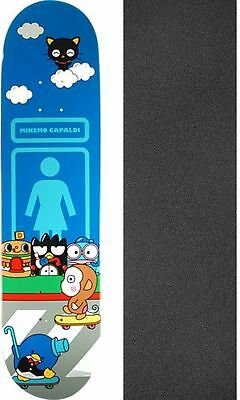 Girl Skateboards Hello Sanrio Deck with Jessup Grip Tape - Bundle of 2 items
