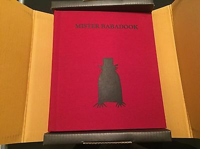 SIGNED FIRST EDITION MISTER BABADOOK pop up book OOP Out Of Print BRAND NEW