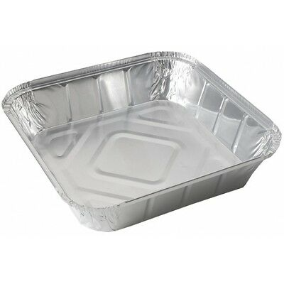 200 x Foil Containers No 9 Deep Aluminium - Hot Cold Food Takeaways