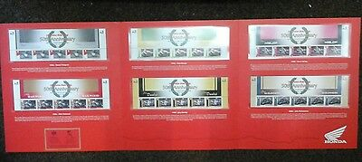 Isle of Man TT Limited Edition 50th Honda Stamp/Coin Collection only 500 no.201