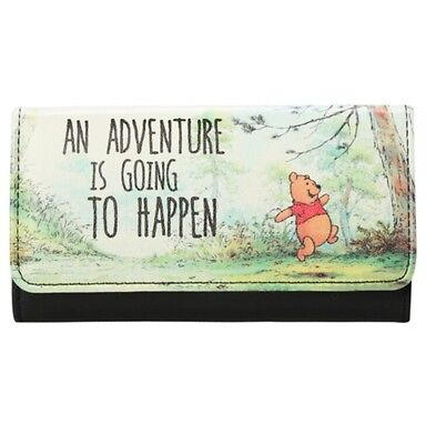 Disney Winnie The Pooh An Adventure Trifold Flap Wallet Gift New With Tags!