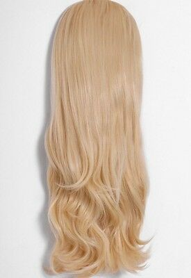 Pink Boutique Golden Blonde Flicky #611.88 Synthetic 3/4 Wig BNWT RRP £25