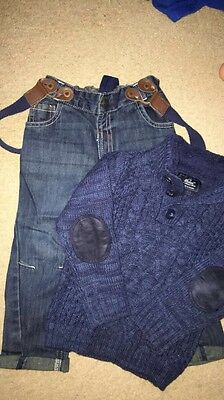 Boys Jeans And Jumper 2-3 Years