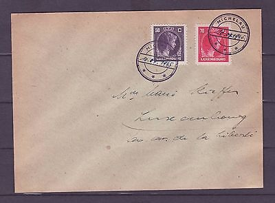 A596 Luxembourg Cover Caoutchouc Used Michelau