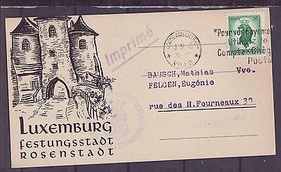 A601 Luxembourg Postcard