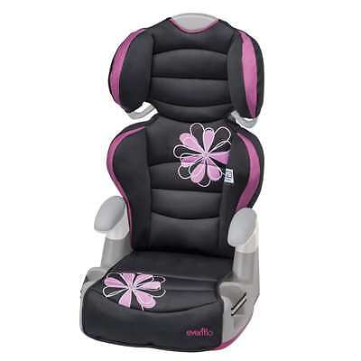 Evenflo Big Kid Amp High Back Booster Car Seat Chair Girl Safety Kids Toddler