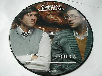 We Are Scientists - After Hours - Single Sided Picture Disc