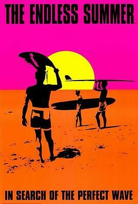 The Endless Summer Movie POSTER 27 x 40 Mike Hynson, Robert August, C, LICENSED