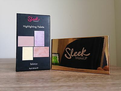 "Brand New Sleek Makeup Highlighting Palette In Shade ""solstice"""