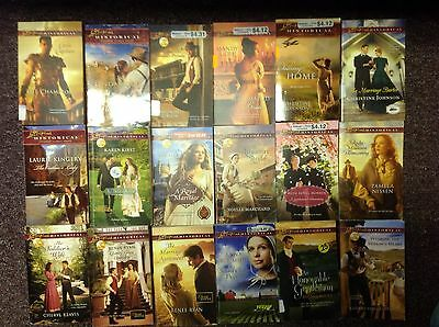 love Inspired Historical lot of 18