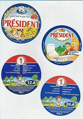 Selection of all different cheese labels ettiquette Fromage formaggio kase #489