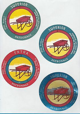 Selection of all different cheese labels ettiquette Fromage formaggio kase #494