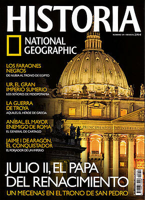Lote 9 revistas National Geographic Historia (nums. 59 a 70)