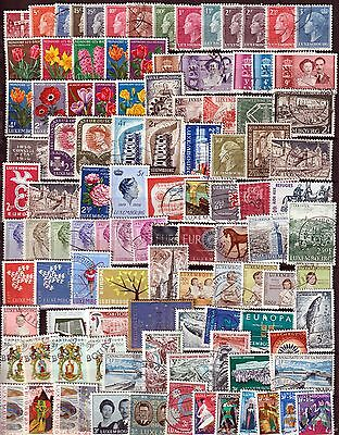 Luxembourg 1949-1955, lot used stamps