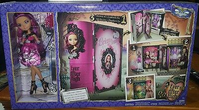 Ever After High Briar Beauty Doll Thronecoming 3 rooms in 1 Play set - new