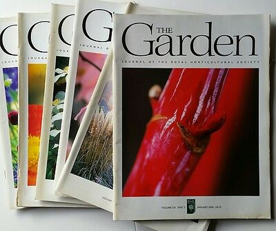 RHS The Garden Magazine 2006 January - December 12 issues