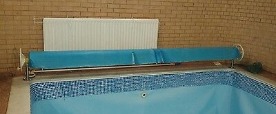 swimming pool roller and cover