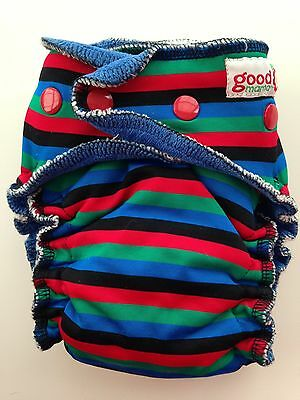 Goodmama Fitted Cloth Diaper - Used RBG