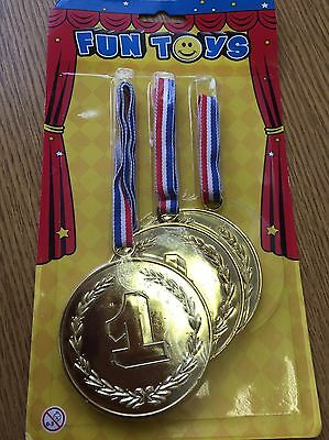 Large Plastic Gold Medals
