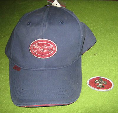 Boy Scouts of America BSA 2007 Limited Edition Baseball Hat Cap - Velcro Patch