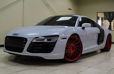 2015 Audi R8  CLEAN CARFAX, VOSSEN WHEELS, SPECIAL COLOR , SUZUKA GREY, HIGLY OPTIONED