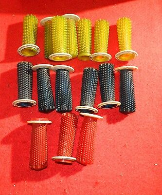 Very Nice Joblot  Vintage Handlebar Grips Diff Colurs. See Pics