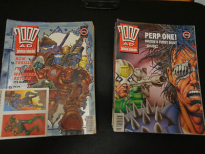 2000AD Progs 750-799 - Run of 50 comics - 3 free gifts