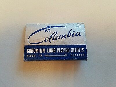 HMV Miniature Thorn needles and Columbia long play made in Britain
