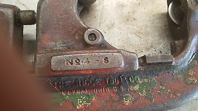 """RIDGID 4-S,  2 1/2 - 4""""  inch PIPE CUTTER USED"""