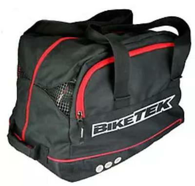 Helmet Bag Black Motorcycle Bike Car Karting Mx Scooter Full Universal Carrier