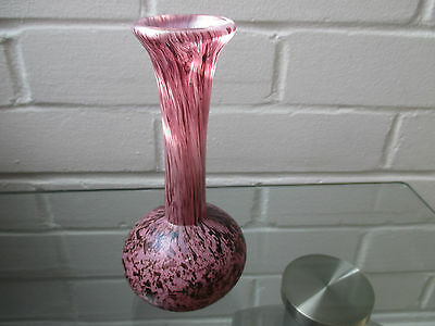 Stunning Phoencian Malta  Art Glass Vase Signed