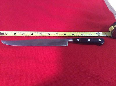 "Vintage Sabatier 7 1/2""carving/slicing Knife 4 Star Elephant Rowoco Inox France"