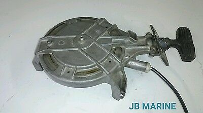 Mariner Yamaha 8hp Rewind Pull Starter Recoil Manual Rope Start 1978-86 Outboard