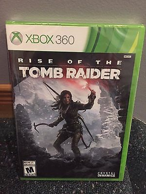 Rise of the Tomb Raider Microsoft Xbox 360 BRAND NEW SEALED