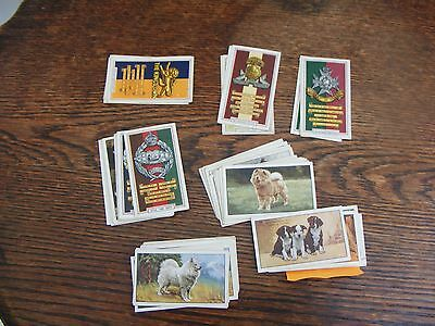 50 GALLAHERS CIGARETTE CARDS inc ARMY BADGES, DOGS