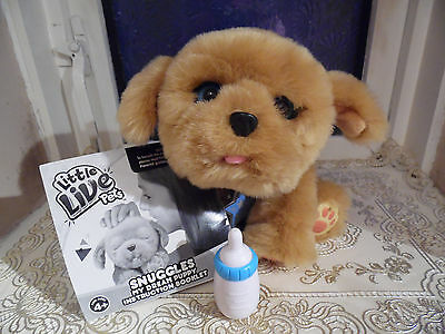 Little Live Pets My Dream Puppy Snuggles Soft Toy New