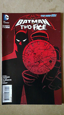 Batman And Robin (Two-Face) #25 1St Print Dc Comics (2014) The New 52