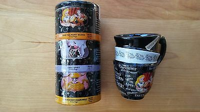 Disney Alice in Wonderland The Official Unbirthday Tea and Cup set - New w/o box