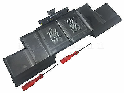 "New Genuine Original Apple Macbook Pro Retina 15"" A1398 Battery A1618 2015 +tool"