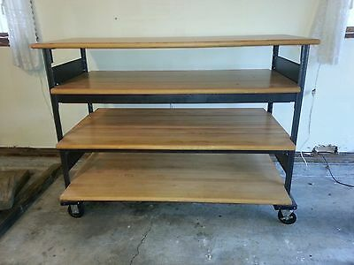 retail display shelf 4 tier