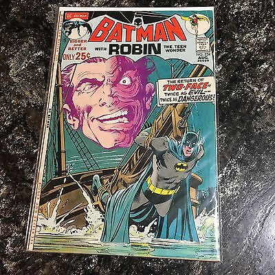Batman 234 First Appearance Of Two Face