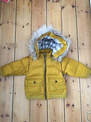 Burberry Baby white duck down winter jacket 18months